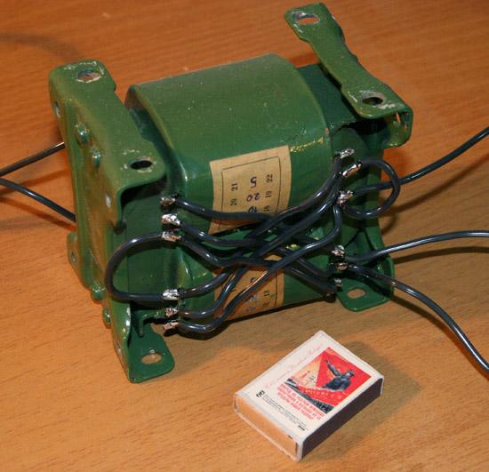 Трансформатор для разморозки