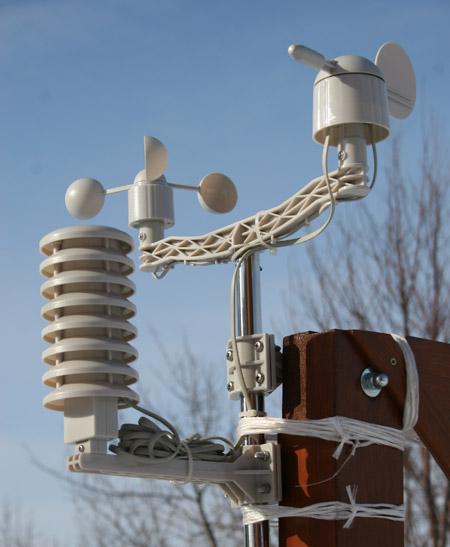 Домашняя метеостанция. Выносные датчики, анемометр